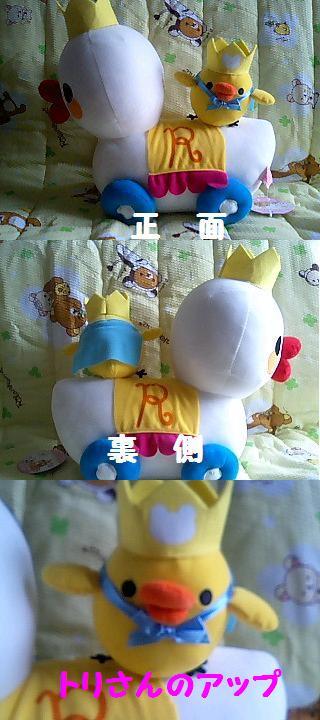 Happy5thキイロイトリぬいぐるみXL-4