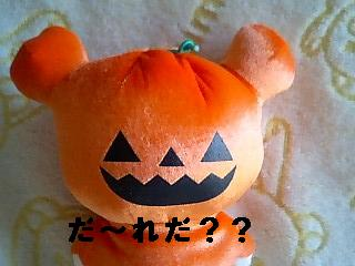 かぼちゃのお化け★可愛いコリちゃん★-1