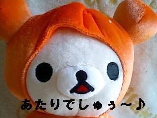 かぼちゃのお化け★可愛いコリちゃん★-2