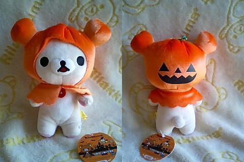 かぼちゃのお化け★可愛いコリちゃん★-4
