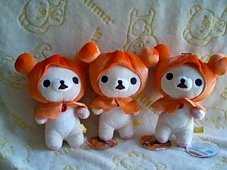 かぼちゃのお化け★可愛いコリちゃん★-6