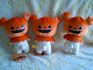 かぼちゃのお化け★可愛いコリちゃん★-7