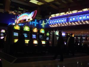 ロビー内のカジノ