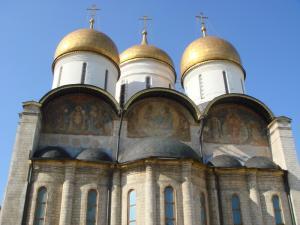 ウスペンスキー大聖堂横顔