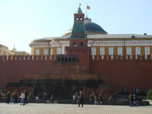 元老院とレーニン廟
