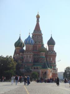 午前中のポクロフスキー寺院