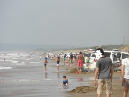 20110815千里浜-1