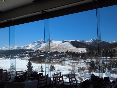 昼食会場からの眺め