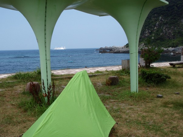 沢尻湾キャンプ場