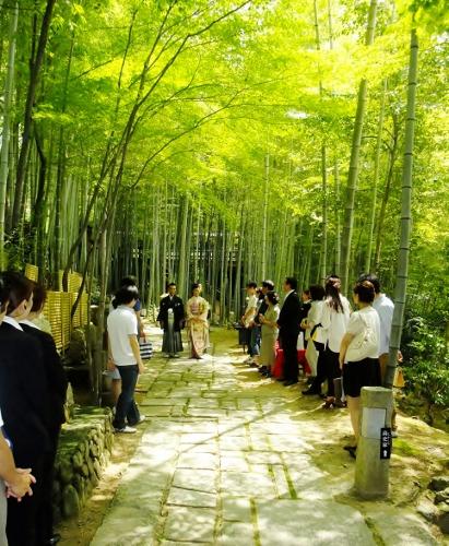 竹林模擬人前式