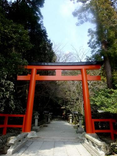 大田神社の鳥居