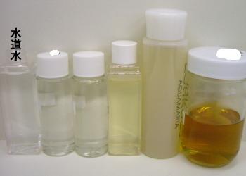 化粧水の色