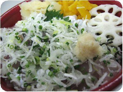 あじ丼(季節丼)