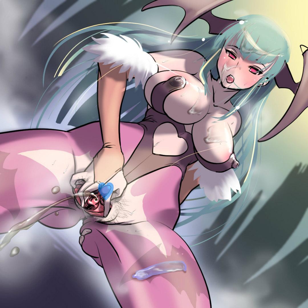 くぱぁ, 聖水, ぶっかけ, 悪魔娘