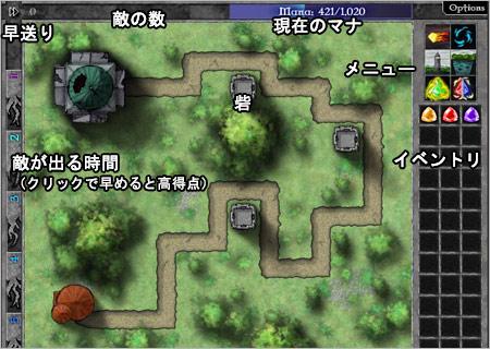 マップの説明