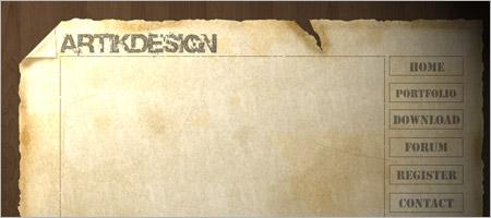 フリーウェブデザインテンプレート