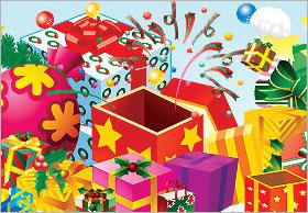 プレゼント系のアイコン集