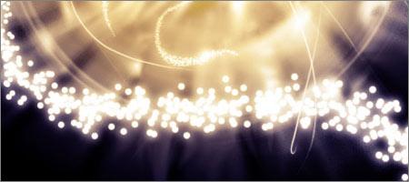 光のphotoshopブラシセット