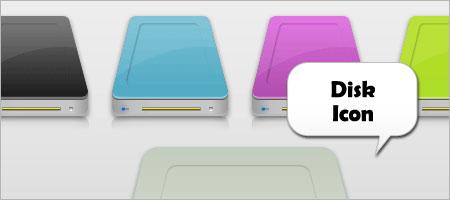 diskアイコン