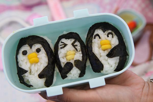 ペンギンおにぎり