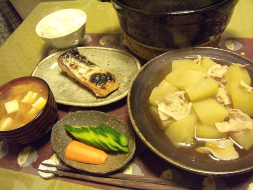 5冬瓜と豚バラの煮物定食