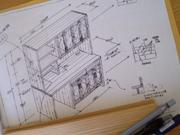 キッチン収納家具製作