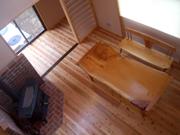 ラッセルの欅家具搬入