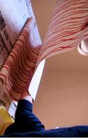 セルフリノベーション-壁紙ポイント貼り