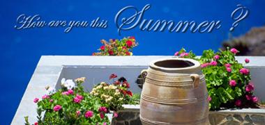 夏期休暇のご案内