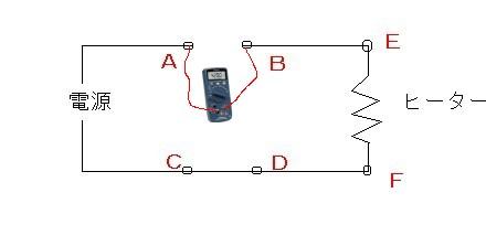 ヒーター電流測定
