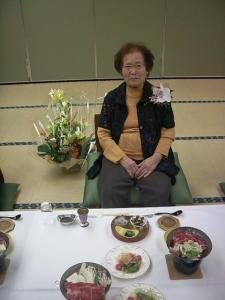 義母の米寿のお祝い