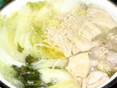 鶏の水炊き2