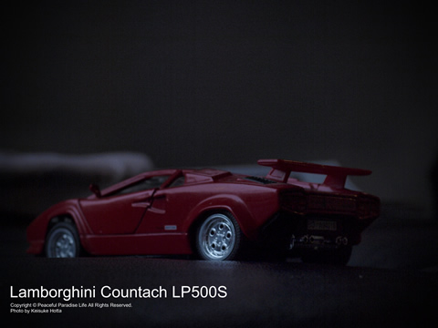 ランボルギーニ・カウンタックLP500S