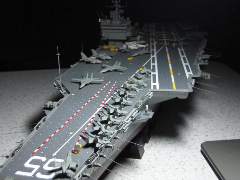 つるぎ海軍工廠日記 1/350エンタープライズ 空母航空団完成