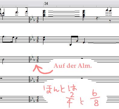 アルプス交響曲ピアノ版のMIDIを作ってみました♪ その5
