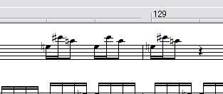 またまた、次のMIDIもアルペン・ピアノ版を作ってみたいと思います。その1。