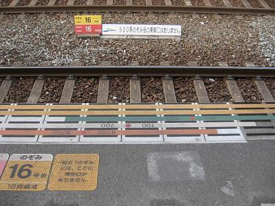 新幹線ホームで・・・続き